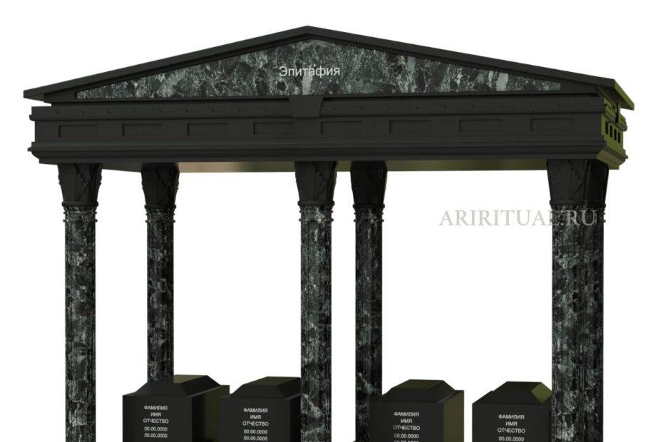 Семейный памятник гробница