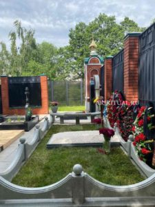 памятники и благоустройство захоронений