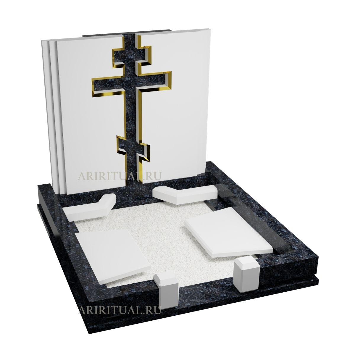 Крест с золотом