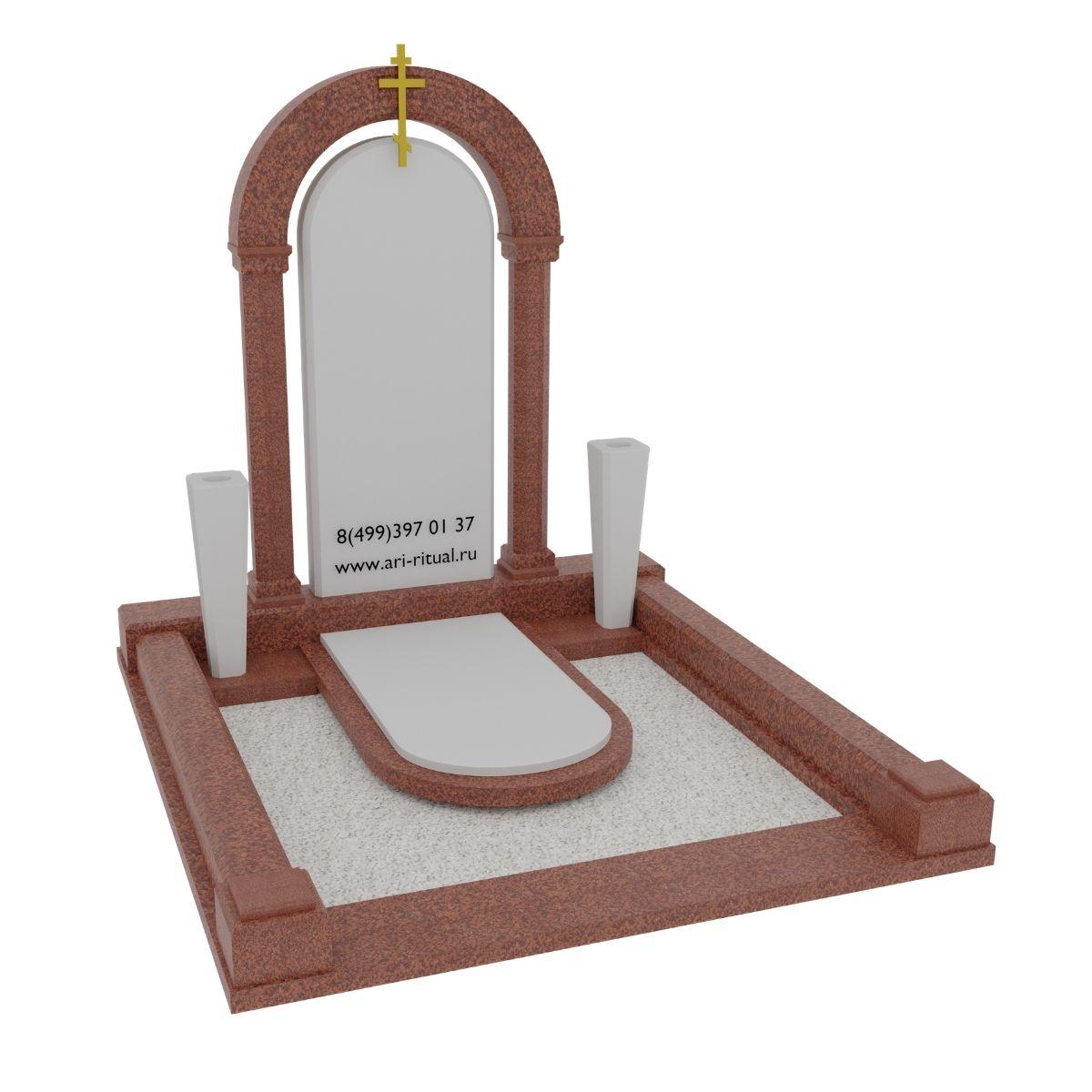 вариант православного памятника 19