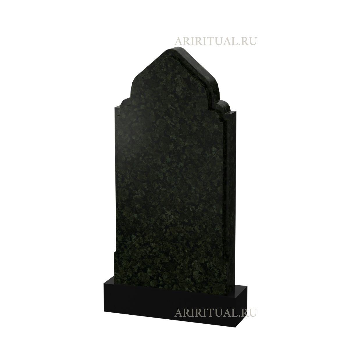 Простая надгробная плита