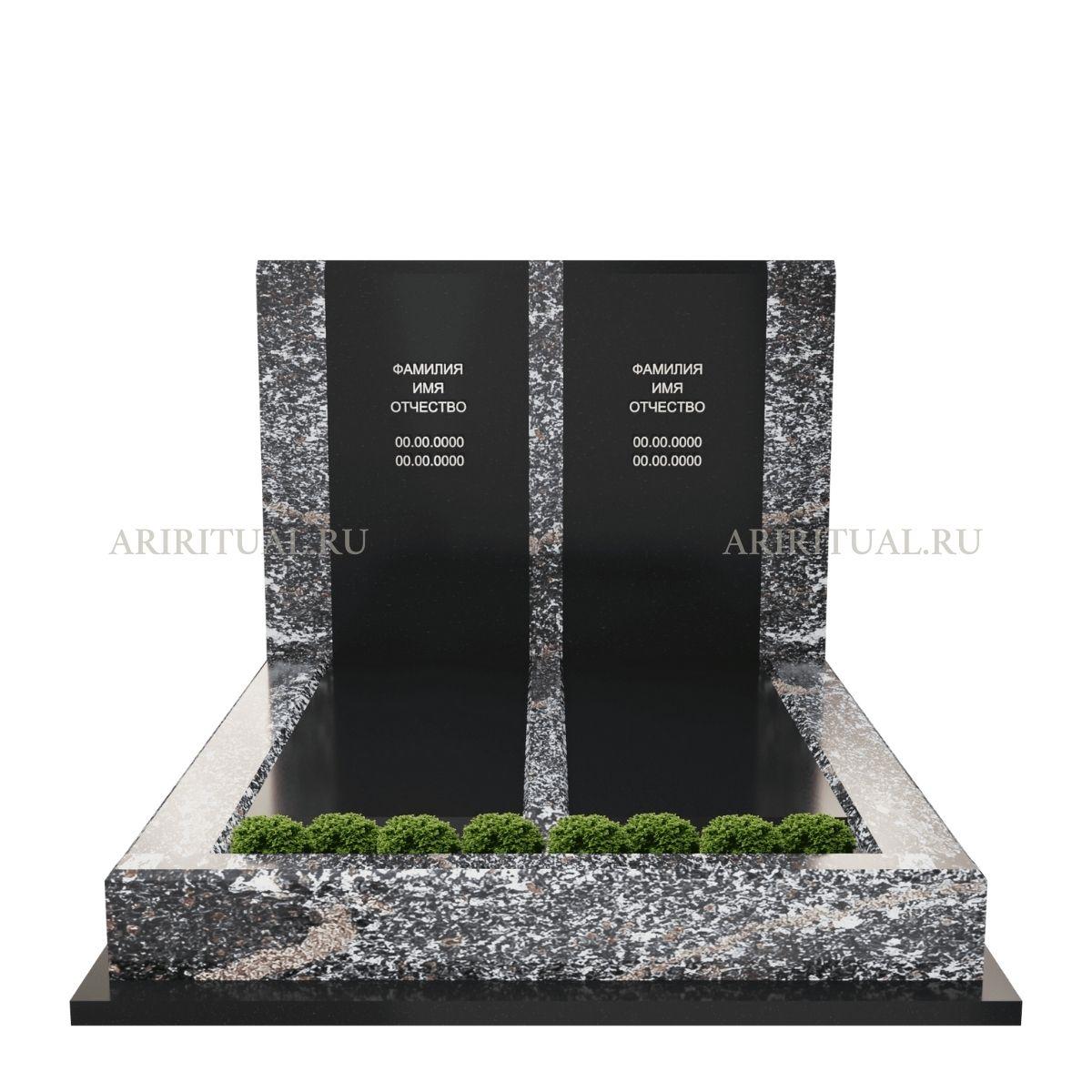Двойной памятник родителям