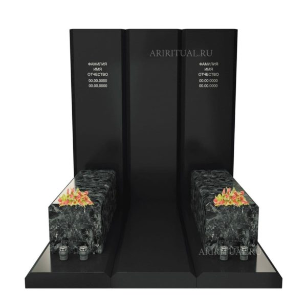 Памятник на три захоронения