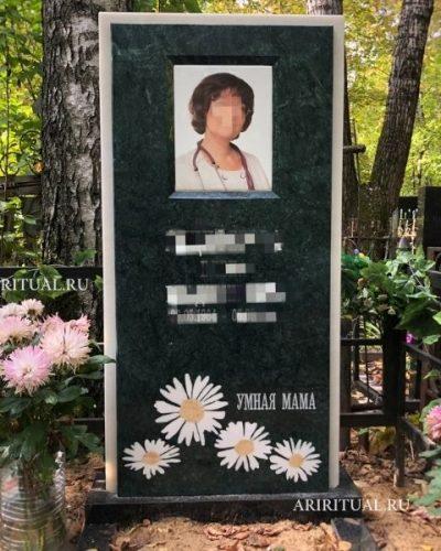 женский памятник маме
